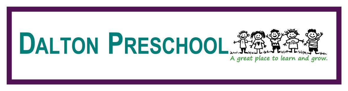 Dalton Preschool – A great place to learn and grow